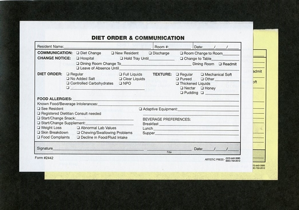 diet order  u0026 communication   2442